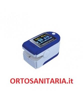Pulsossimetro portatile da dito con display