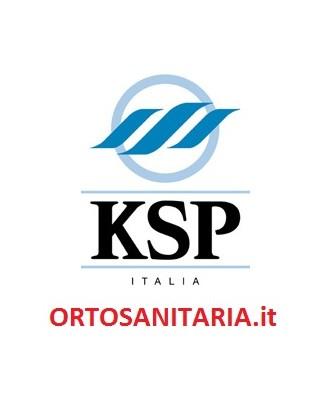 Sedia comoda WC in acciaio KSP FS696