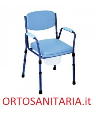 Sedia da comodo regolabile in altezza-Plus