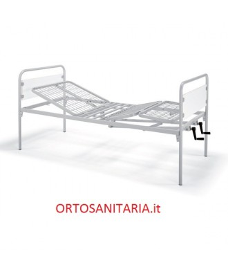 Letto manuale Horus a due manovelle