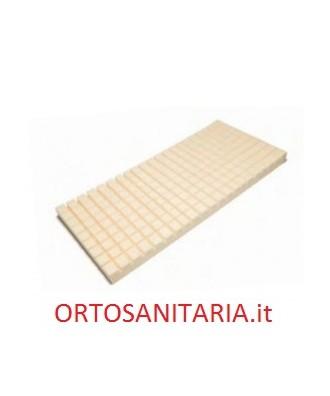 Materasso antidecubito ventilato a piramidi tronche  in poliuretano espanso