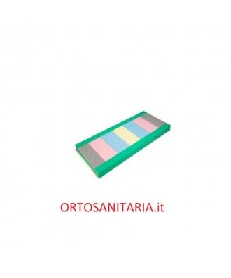 Materasso ventilato in poliuretano espanso a 7 densità.