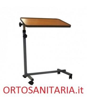 Tavolino ad altezza regolabile con piano inclinato