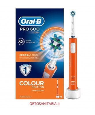 Pro 600 Cross Action Colour edition Oral-B