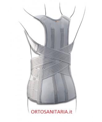 Corsetto Muscolo-Scheletrico dorso lombare con fibra di carbonio