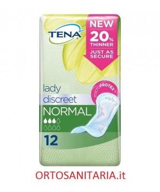 Tena Lady Discreet Normal cm. 27,5x10,6 cod. 760479