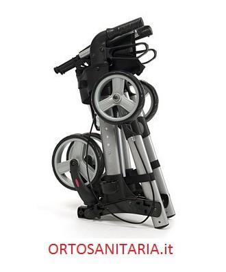 Deambulatore   Rollator Quadri- light pieghevole