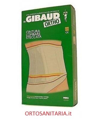 Cintura lombare steccata Gibaud 0112