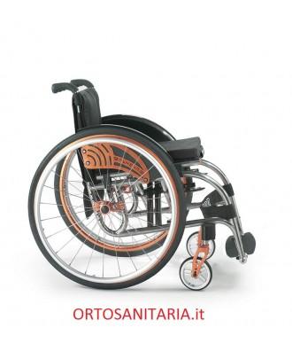 Carrozzina ultralight in titanio Alhena Offcarr