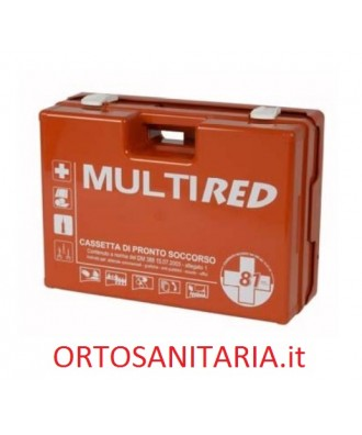 Multi red cassetta di pronto soccorso