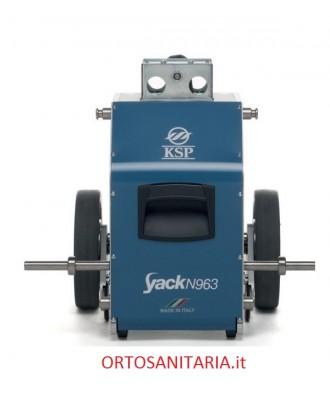 Montascale a ruote agganciabile alla carrozzina KSP N963 Yack