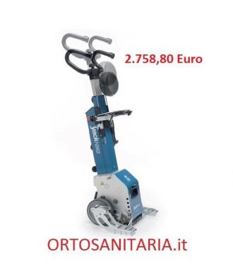 Montascale a ruote KSP  con pedane idoneo per scale con altezza gradino max. 26 cm.-N 962H Yack