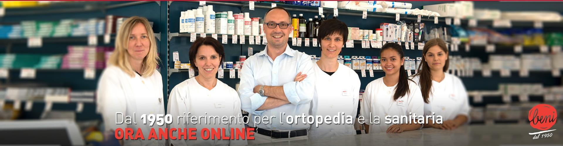Dal 1950 leader nella vendita di articoli per Ortopedia e Sanitaria